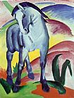 Franz Marc Blue Horse painting